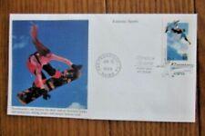 EXTREME SPORTS  SNOWBOARDERS 1999 PREMIUM MYSTIC  CACHET FDC