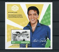 Grenada 2015 MNH Elvis Presley His Life in Stamps 1v S/S I Buys First Home