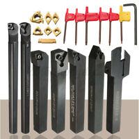 7 Sets 12mm Carbid Schaft Drehbank Drehwerkzeug Halter Bohrstange T15 Beste
