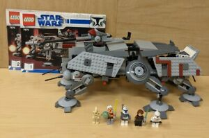 Lego Star Wars 7675 AT-TE Walker (Completed After Pics) w Minis & Instr Pls Read