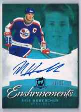 2013-14 THE CUP ENSHRINEMENTS DALE HAWERCHUK AUTO 31/50 WINNIPEG JETS #CE-HA