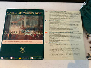 WENTWORTH Coronation of Queen Victoria 250 pc Wooden JIGSAW PUZZLE