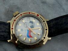 Vostok Komandirskie Mechanische Boris Jelzin russische Armbanduhr