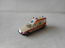 1:87 HERPA  HO MERCEDES BENZ  AMBULANCE  (3) GOOD CONDITION