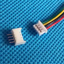 20X Mirco JST GH1.25mm GH 4-polige Stecker und Buchsen w / Drähte Kabel