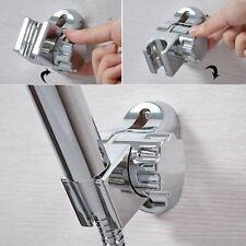 Adjustable Shower Head Holder CHROME Rotatable Bathroom Wall Mounted Bracket