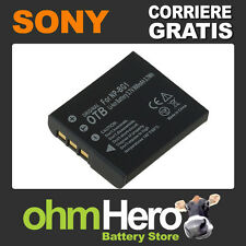 Batteria Alta Qualità per Sony Cyber-shot DSC-W300