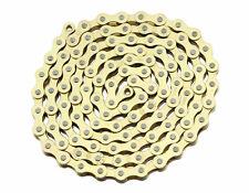 GOLD SINGLE SPEED 1/2X1/8 BIKE BICYCLE CHAIN BMX  BEACH CRUISER CHAIN