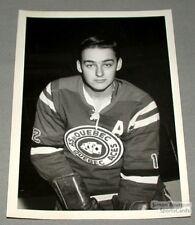 AHL Mid-60's Quebec Aces Gilles Carrignan Photo