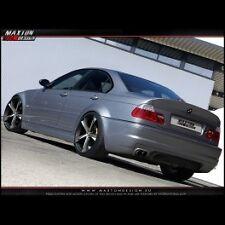 BMW Serie 3 E46 Berlina  Paraurti Posteriore sportivo vetroresina Tuning M3 look