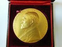 Médaille en bronze doré CH. PILLET Graveur 1910 Monnaie de Paris