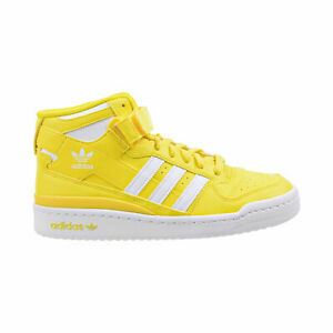 [GY5791] Adidas FORUM MID Men's Classic Shoes Yellow/Cloud White *NEW*