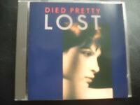 DIED  PRETTY  -   LOST  ,  CD   1988 ,  INDIE  ROCK  , CITADEL  RECORDS ,GERMANY