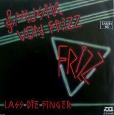 """7"""" 1980 GERMAN ROCK RAREST MINT-! MUSIK VON FRIZZ Frizz"""