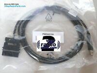 REAL OEM Motorola MotoTRBO XPR8300 XPR8400 PMKN4010 A B USB Programming Cable