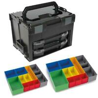 Sortimo Systemkoffer LS-Boxx 306 schwarz 2 x i-Boxx 72 , 2 x Insetboxenset H3