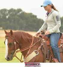 German MartingaleTraining Roping Rein Reins Barrel Martin Saddlery Horse Tack