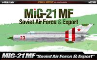 1/48 MIG-21MF Soviet Air Force & Export #12311 ACADEMY HOBBY MODEL KITS
