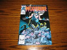 Marvel - WOLVERINE #1 Issue Comic!!  Glossy VF  1988