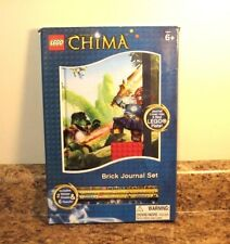 Lego Legends of Chima Brick Journal Set Pencils Stickers New