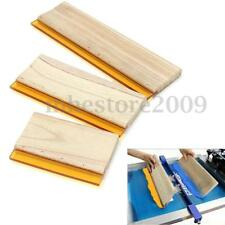 "3pcs Silk Screen Printing Squeegee Ink Scaper Scratch Board Tools 6.3"" 9.5"" 13"""