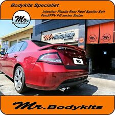 INJECTION PLASTIC REAR ROOF SPOILER WING-FORD FG FALCON XR6/XR8/G6/XT/TURBO/567