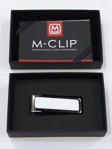 M-Clip Ultralight world's finest Money Clip gift made in the USA GO-BKA-WHGB