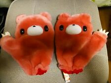 Gloomy Bear - Set of Pink Mittens / Gloves