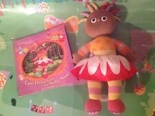 In The Night Garden Talking Upsy Daisy Plush Toy with Free Book - Sounds!!