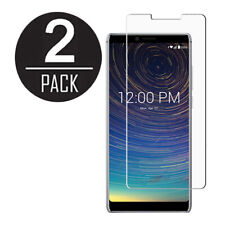 2X PACK CLEAR TRANSPARENT TEMPERED GLASS SCREEN PROTECTOR FOR COOLPAD LEGACY