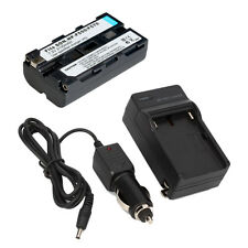 NP-F550 Rechargeable Li-ion Battery + Charger for Sony NP-F570 NP-F730 NP-F750