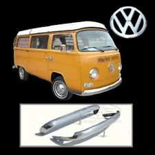 Brand new VW Bus 1968-1972 Bay Window stainless steel bumpers