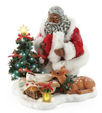 Possible Dreams Santa African American Holy Infant Figurine #6006475