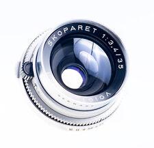 Voigtländer Skoparet 35 mm f 3,4 mit Vitessa T Anschluss SN 4445606
