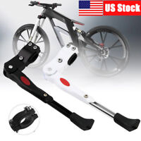 Heavy Duty Adjustable Mountain Bike Bicycle Cycle Prop Side Rear Kick Stand US