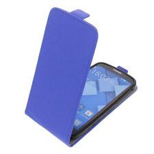 Funda para Alcatel one touch Pop C7 Tipo Flip Funda protectora con tapa Azul