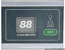 Contametri con sensore induttivo 12/24 V - 99 m   Marca Osculati   02.363.00
