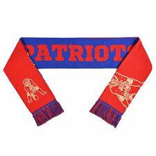 New England Patriots Reversible Scarf Winter Neck Split Logo - Throwback Retro