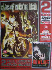 CLASS OF NUKE 'EM HIGH & HOWLING VI THE FREAKS PRISM UK REGION FREE DVD L NEW