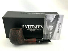 Rattray's Short Fellow 58 Pfeife pipe pipa 9mm Filter rustiziert