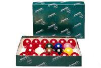 Aramith Snooker Ball Set. Full Size Premier Balls - 2 1/16 Inch Balls