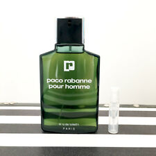 2ml Sample of Vintage 3rd Formula Paco Rabanne Pour Homme FREE POSTAGE