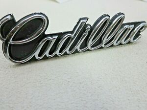New GM NOS OEM 1985 -1993 Cadillac grille emblem Deville Fleetwood Eldorado