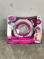Knitting Machine Scarf Kids DIY Toy Children Weaver Loom Knitter Smart Gift UK