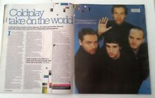 More details for coldplay 'take on the world' 2005 2 page uk article / clipping