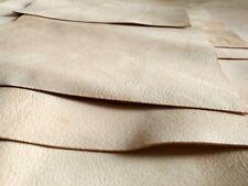 1.1mm vera pelle cuoio crust A4-A3-A2 10cm a 30cm pellami pelli bazzana naturale