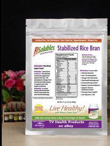 Stabilized Rice Bran Patty McPeak Manna, Like Plain Rice N Shine or Nanacea 24/7