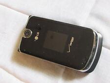 GREAT LG VX8600 Black Chocolate Verizon Flip Cell Phone vCast Bluetooth memory