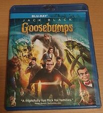 Goosebumps Blu-ray disc/case/cover only-no digital- 2016 Jack Black prev view