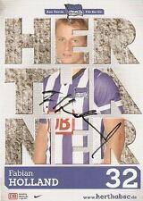 Fabian Holland Hertha BSC Berlin 2013/2014  2013/14 13/14--DFB--SV Darmstadt 98-